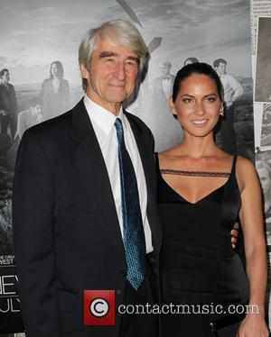 Sam Waterston and Olivia Munn - Celebrities attend the premiere of HBO's 'The Newsroom' Season 2 - Los Angeles, California,...