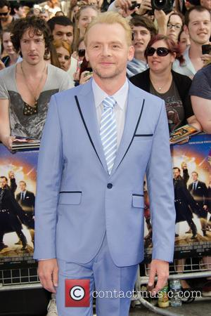 Simon Pegg - World premiere of The World's End held at the Odeon Leicester Square - London, United Kingdom -...