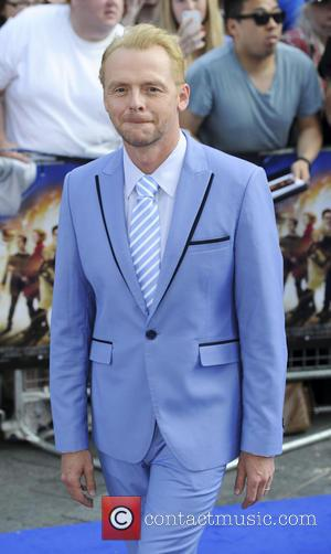 Simon Pegg, Odeon Leicester Square, Empire Leicester Square