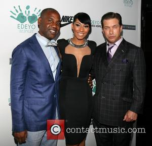 Unik Ernest, Bridget Kelly and Stephen Baldwin - 2013 Edeyo Gives Hope Ball at Highline Ballroom - New York, NY,...