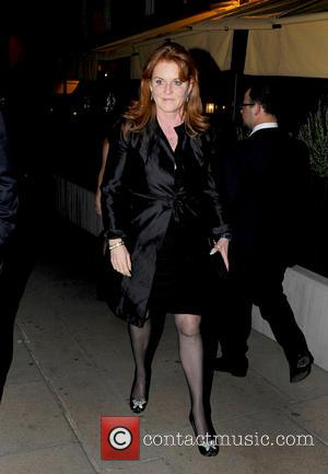 Sarah Ferguson - Prince Andrew and Sarah Ferguson, Duchess of York leaving Loulou's shortly after each other - London, United...