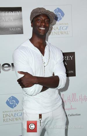 Aldis Hodge - The Fountain Of Youth White Party to celebrate GEN:A and the launch of Michael Hogg's book 'The...