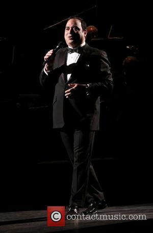 Gilberto Santa Rosa - 'Forever Tango' press day at the Walter Kerr Theatre - New York, NY, United States -...