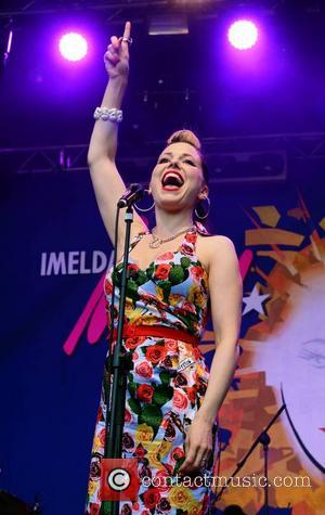 Imelda May - Imelda May performs live at Iveagh Gardens, with supporting act Mundy - Dublin, Ireland - Thursday 11th...