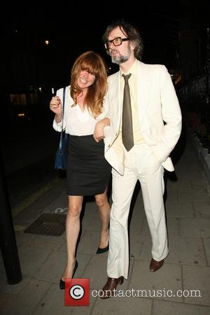 Jarvis Cocker and Kim Sion - Jarvis Cocker outside Claridge's with Kim Sion - London, United Kingdom - Thursday 11th...