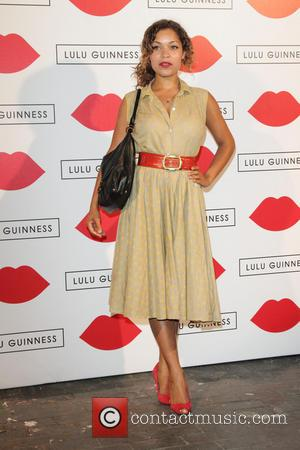 Antonia Thomas - Lulu Guinness Paint Project Party at the Old Sorting Office - London, United Kingdom - Thursday 11th...