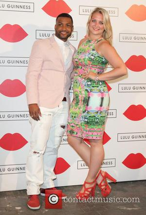 JB Gill and Chloe Tangney - Lulu Guinness Paint Project Party at the Old Sorting Office - London, United Kingdom...