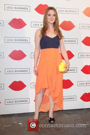 Olivia Hallinan - Lulu Guinness Paint Project Party at the Old Sorting Office - London, United Kingdom - Thursday 11th...