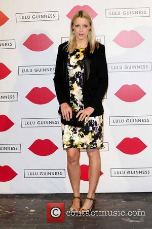 Lauren Laverne - Lulu Guinness Paint Project Party at the Old Sorting Office - London, United Kingdom - Thursday 11th...
