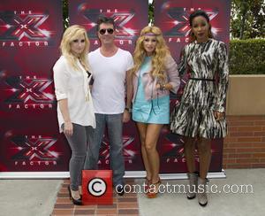 Demi Lovato, Simon Cowell, Paulina Rubio and Kelly Rowland