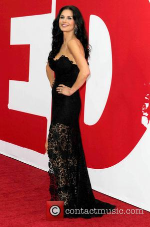 'Red 2' Premieres As Catherine Zeta-Jones Turn Up The Heat [Photos]
