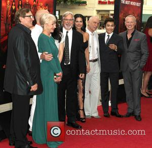 Helen Mirren, Dean Parisot, Catherine Zeta-jones, John Malkovich, Bruce Willis, Byung-hun Lee and Neal Mcdonough