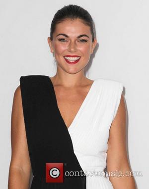 Serinda Swan - Los Angeles premiere of 'RED 2' held at the Village Theatre - Arrivals - Los Angeles, California,...