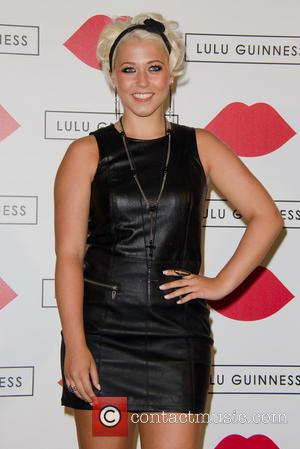 Amelia Lily - Lulu Guinness Paint Project Party at the Old Sorting Office - London, United Kingdom - Friday 12th...