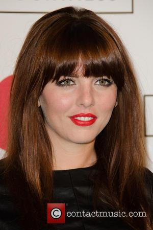 Ophelia Lovibond - Lulu Guinness Paint Project Party at the Old Sorting Office - London, United Kingdom - Friday 12th...