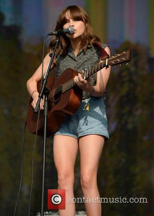 Gabrielle Aplin - Barclaycard British Summer Time held at Hyde Park - Performances - London, United Kingdom - Friday 12th...