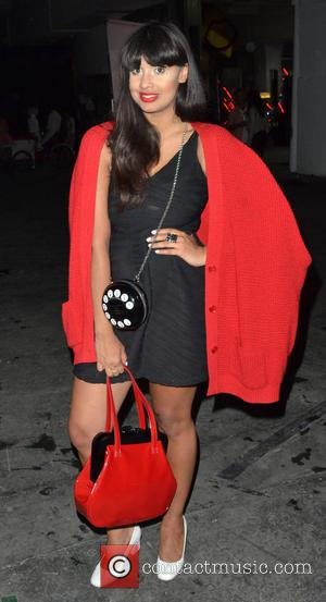Jameela Jamil - Lulu Guinness Paint Project Party at the Old Sorting Office - Inside - London, United Kingdom -...