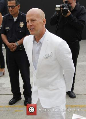 Bruce Willis - Los Angeles premiere of 'RED 2' held at the Village Theatre - Outside - Westwood, CA, United...