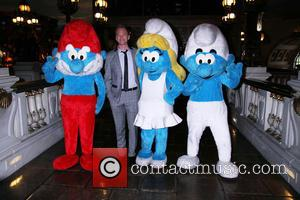 Neil Patrick Harris and Smurfs