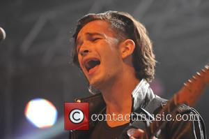 The 1975 and Matthew Healy - Wakestock Festival 2013 - Day 1 - Abersoch, United Kingdom - Friday 12th July...