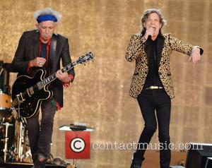 Keith Richards, Mick Jagger and The Rolling Stones - Barclaycard British Summer Time held at Hyde Park - Performances -...
