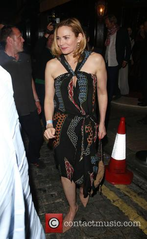 Kim Cattrall - Sir Mick Jagger's 70th birthday party at Loulou's nightclub - Departures - London, United Kingdom - Saturday...