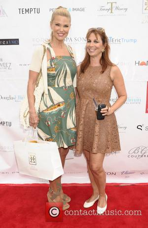 Christie Brinkley and Jill Zarin - Luxury Ladies Luncheon hosted by Jill Zarin at Private Residence - Southampton, NY, United...