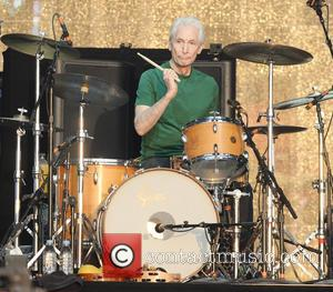 Charlie Watts and The Rolling Stones - Barclaycard British Summer Time held at Hyde Park - Performances - London, United...