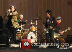 Keith Richards, Ronnie Wood, Mick Jagger, Charlie Watts and The Rolling Stones
