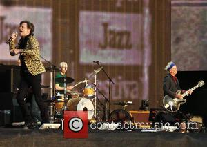 Mick Jagger, Keith Richards, Charlie Watts and The Rolling Stones