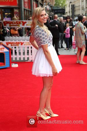 Anna Williamson - UK premiere of 'Pudsey: The Movie' held at Vue West End - Arrivals - London, United Kingdom...
