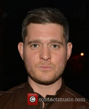 Michael Buble - Singer Michael Buble arrives at his Dublin hotel ahead of his mega five-night-run performing at The O2...