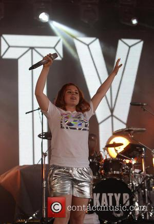 Katy B - Yahoo! Wireless Festival held at the Queen Elizabeth Olympic Park in Stratford - Day 3 - Stratford,...