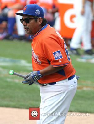 George Lopez - 2013 Taco Bell All-Star Legends and Celebrity Softball Game at Citi Field - New York City, United...