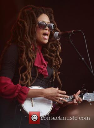 Valerie June - North Sea Jazz Festival 2013 - Day Three - Performances - Rotterdam, Netherlands - Sunday 14th July...