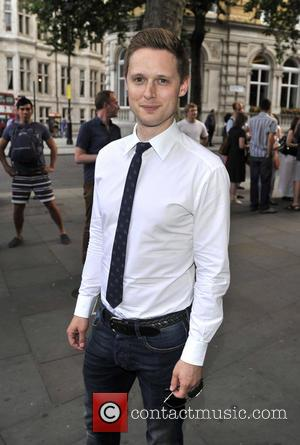 Samuel Barnett - Hugh Bonneville's first night as God in Spamalot at the Playhouse Theatre - Arrivals - London, United...
