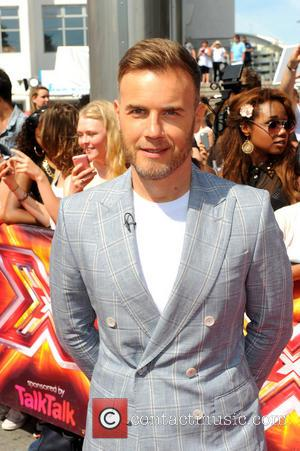 Gary Barlow - 'The X Factor' auditions at Wembley Arena...