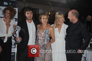 Valeria Golino, Lucrezia Rovere, Riccardo Scamarcio and Paul Haggis Nastassja Kinski