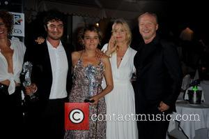 Valeria Golino, riccardo Scamarcio and Paul Haggis Nastassja Kinski