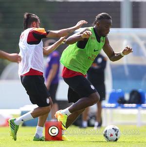 Didier Drogba - Galatasaray football team players training in Birmingham - Birmingham, United Kingdom - Monday 15th July 2013