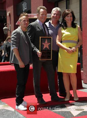 Frankie Muniz, Bryan Cranston, Linwood Boomer and Jane Kaczmarek