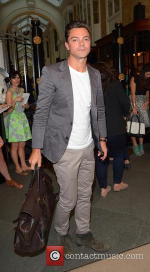 Dominic Cooper - OMEGA Summer Cocktail Party at OMEGA Vintage in Burlington Arcade- Outside Arrivals - London, United Kingdom -...