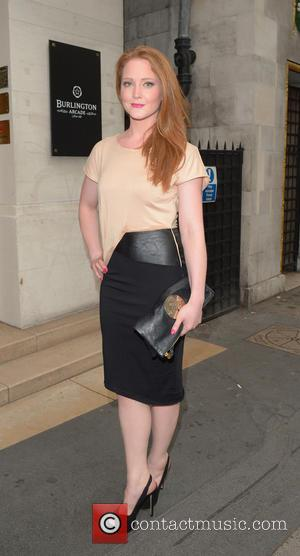 Olivia Hallinan - OMEGA Summer Cocktail Party at OMEGA Vintage in Burlington Arcade- Outside Arrivals - London, United Kingdom -...