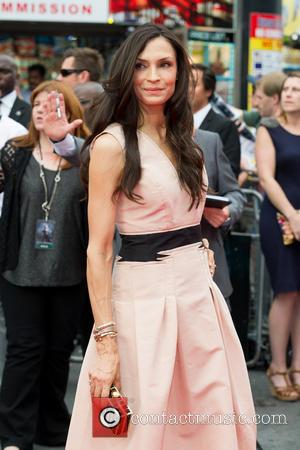 Famke Janssen - 'The Wolverine' U.K. film premiere held at the Empire Leicester Aquare - Arrivals - London, United Kingdom...