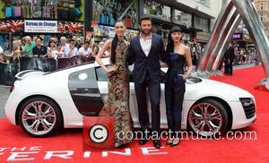 Tao Okamoto, Hugh Jackman and Rila Fukushima