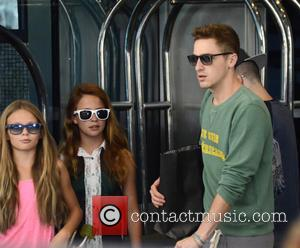 Kendall Schmidt - Big Time Rush depart the Sofitel Hotel for their Summer Tour performance - Philadelphia, PA, United States...