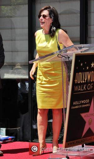 Jane Kaczmarek - Bryan Cranston honored with star on the Hollywood Walk Of Fame - Los Angeles, CA, United States...