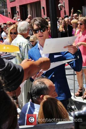 RJ Mitte - Bryan Cranston honored with star on the Hollywood Walk Of Fame - Los Angeles, CA, United States...