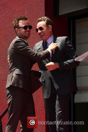 Aaron Paul Met Steven Tyler On His Way From The Emmy Nominations