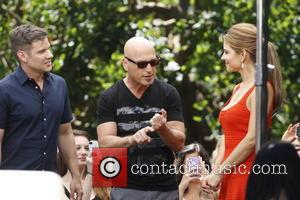 Howie Mandel and Maria Menounos